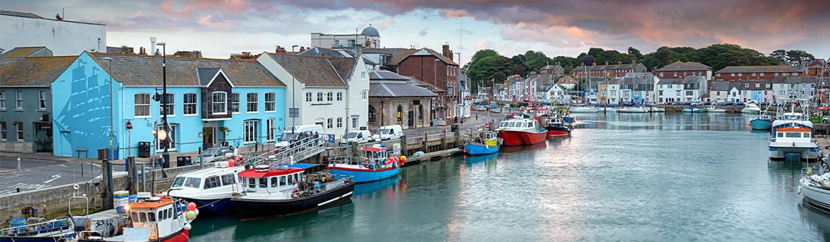 Weymouth Harbour - The Dorset Coast