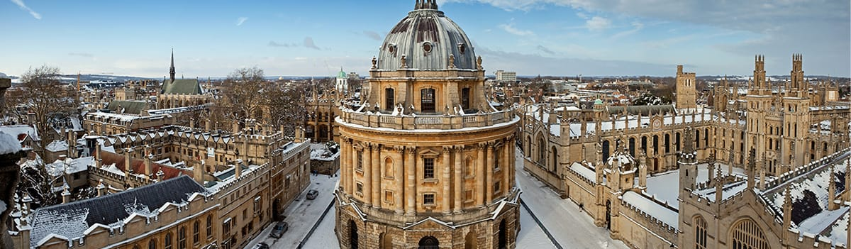 Oxford at Christmas - Shopping & Sightseeing