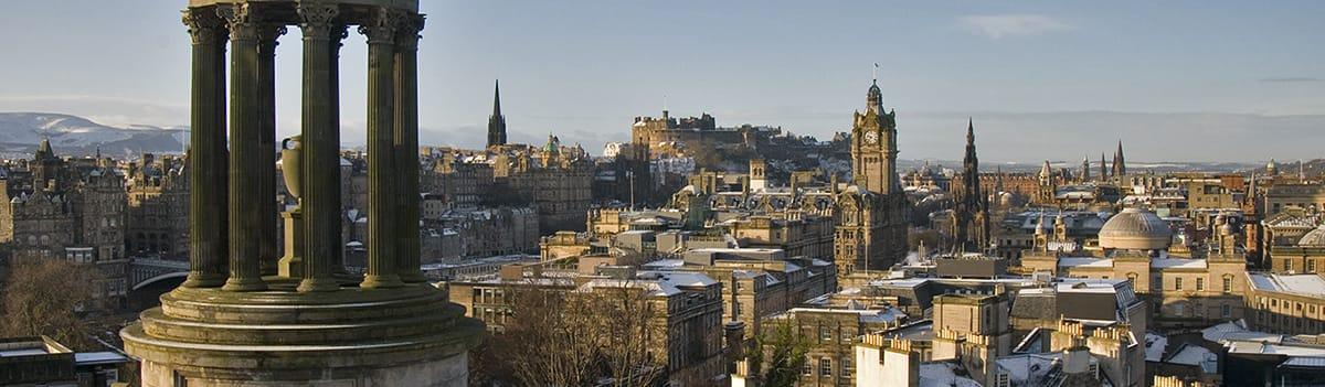 Edinburgh at Christmas - Shopping & Sightseeing