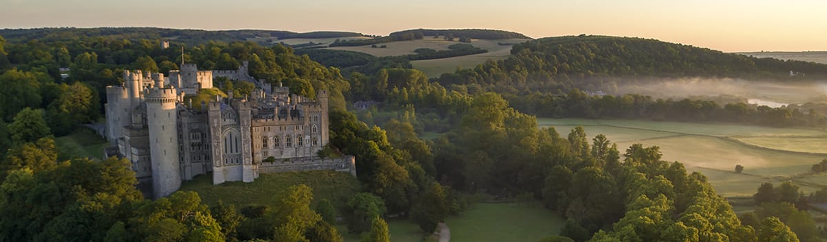 Arundel Castle & Gardens, West Sussex
