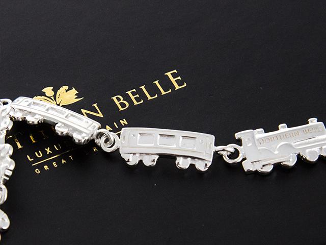 Sterling Silver Train Bracelet