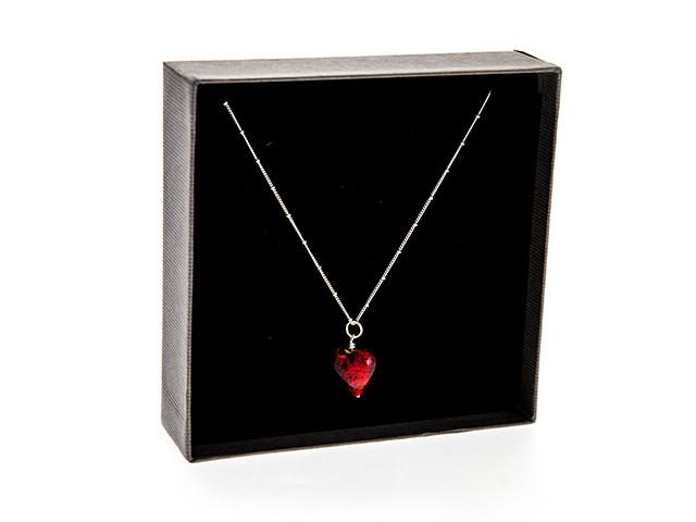 Murano Heart Pendant