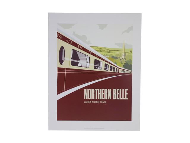 Travel Poster - Train