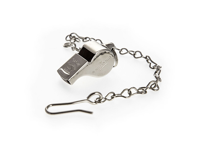 Guards Whistle & Chain